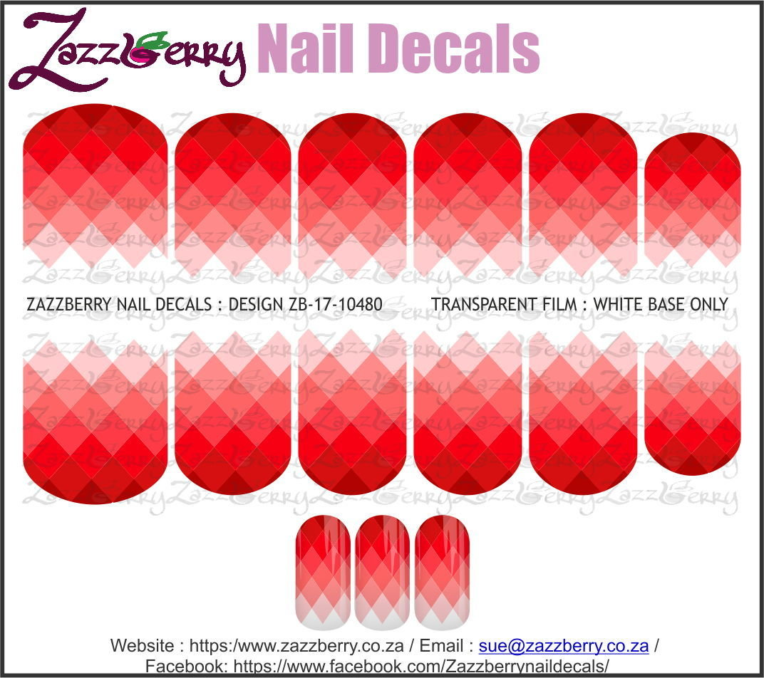 Triangles Red Fade