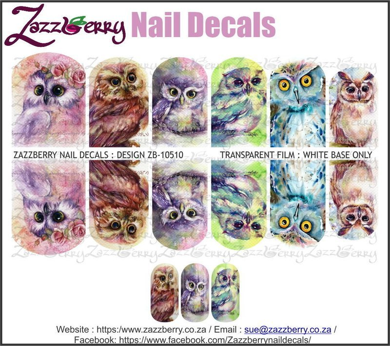 Owls : Various Water Colored