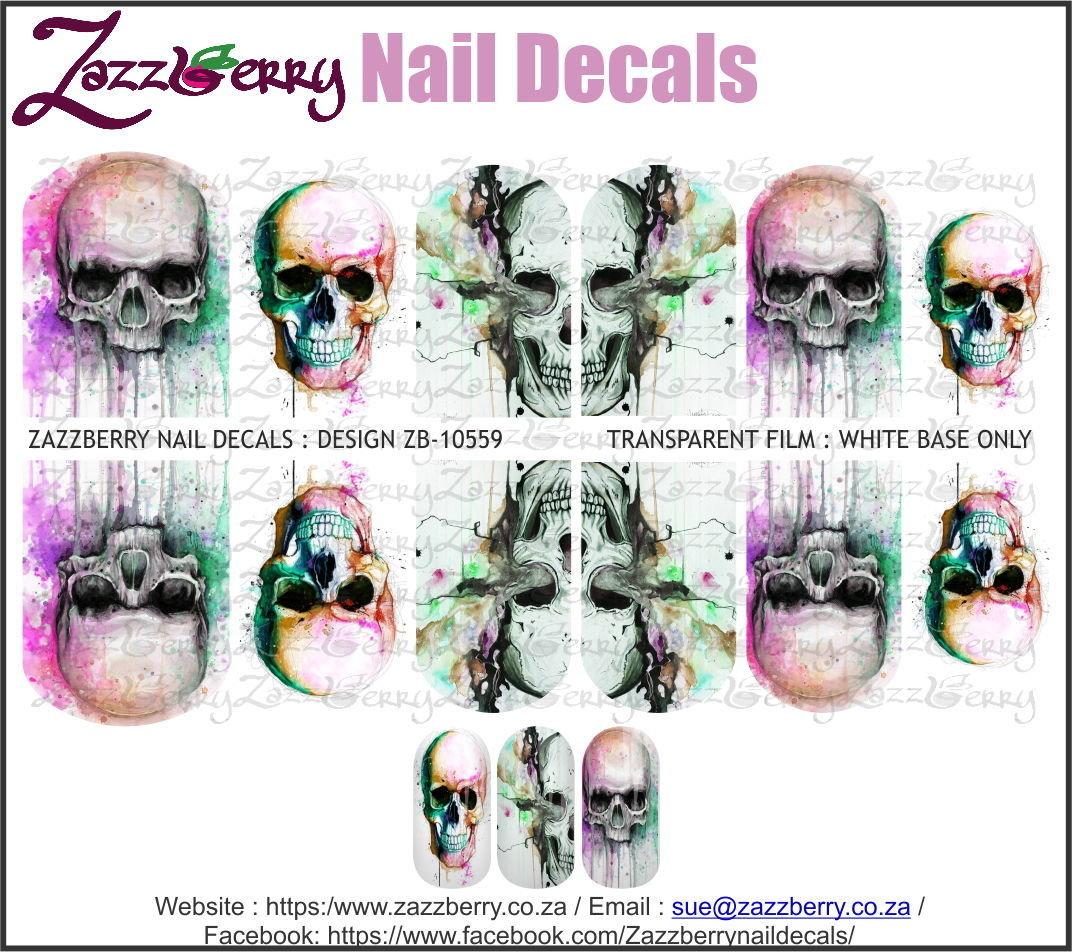 Skulls water Color Mix