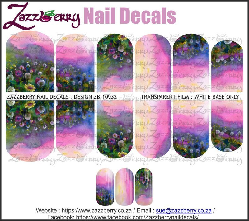 Meadow of Flowers Ombre