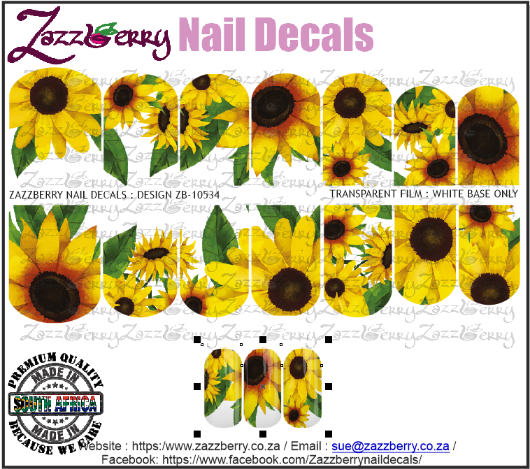 Sunflowers : Painted