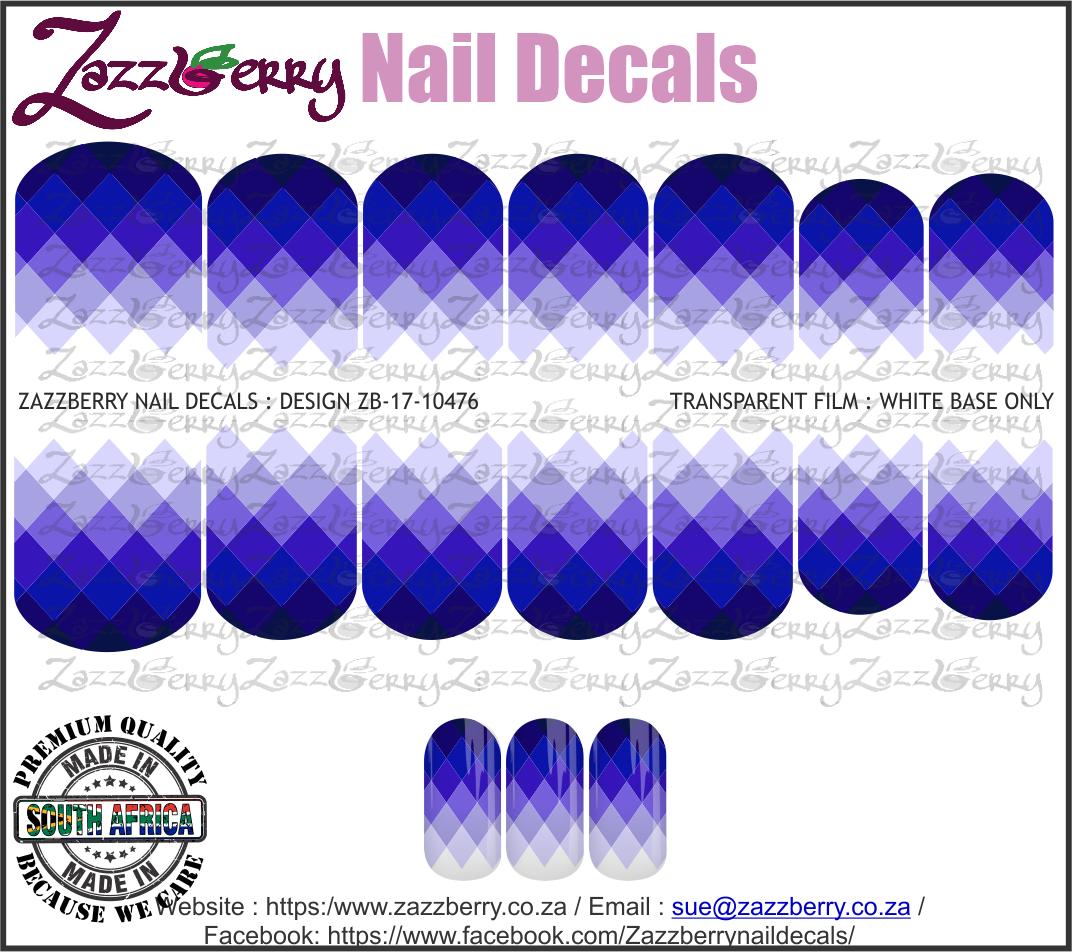 Triangles Dark Blue / Purple