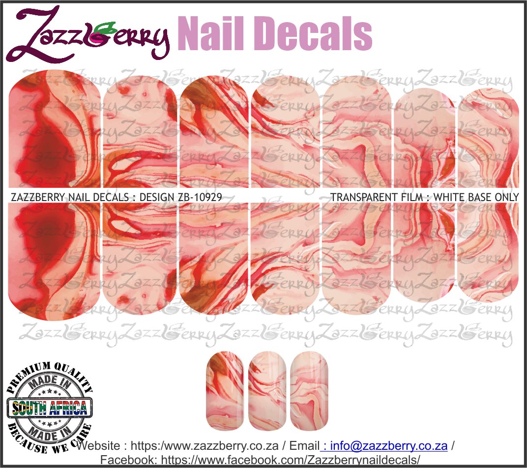 Red / Pink Marble