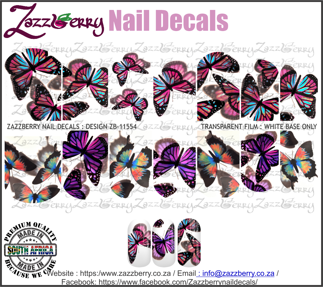 Giant Purple Butterflies