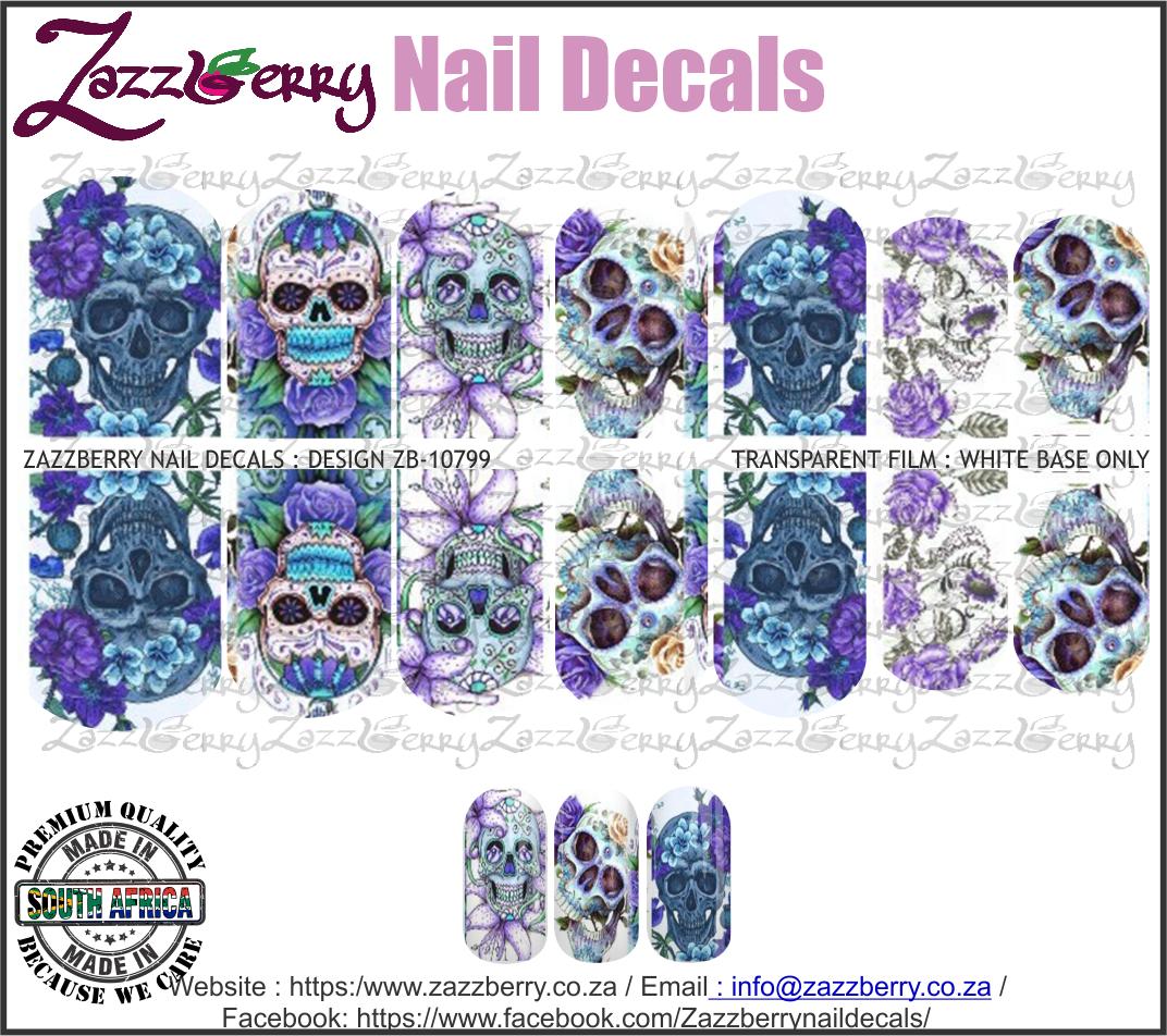 Skulls Purple and Blues