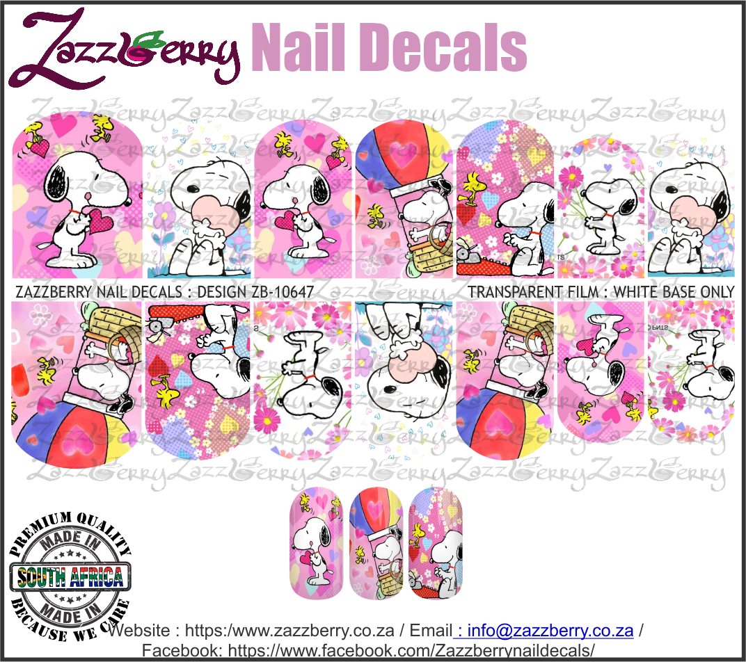 Snoopy Pink Mix