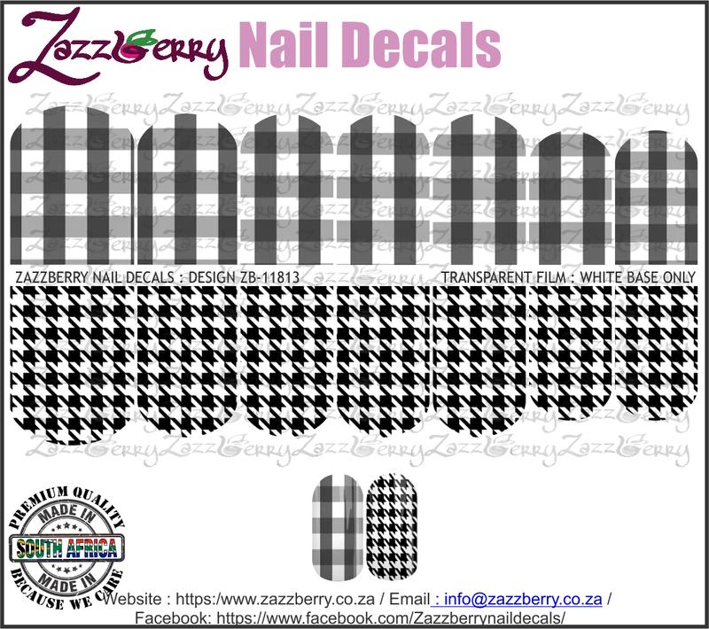 Checkered Black