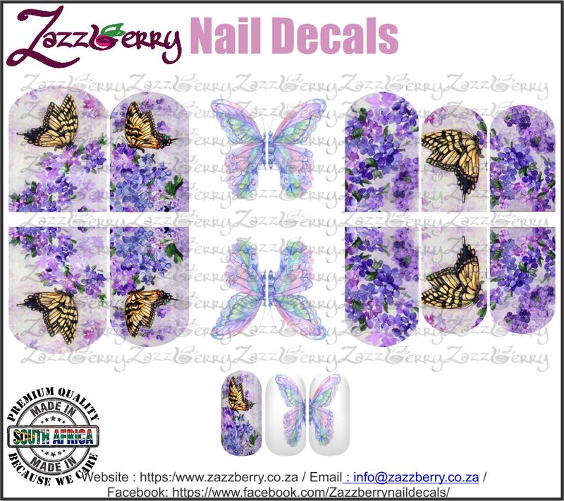Butterflies in flowers
