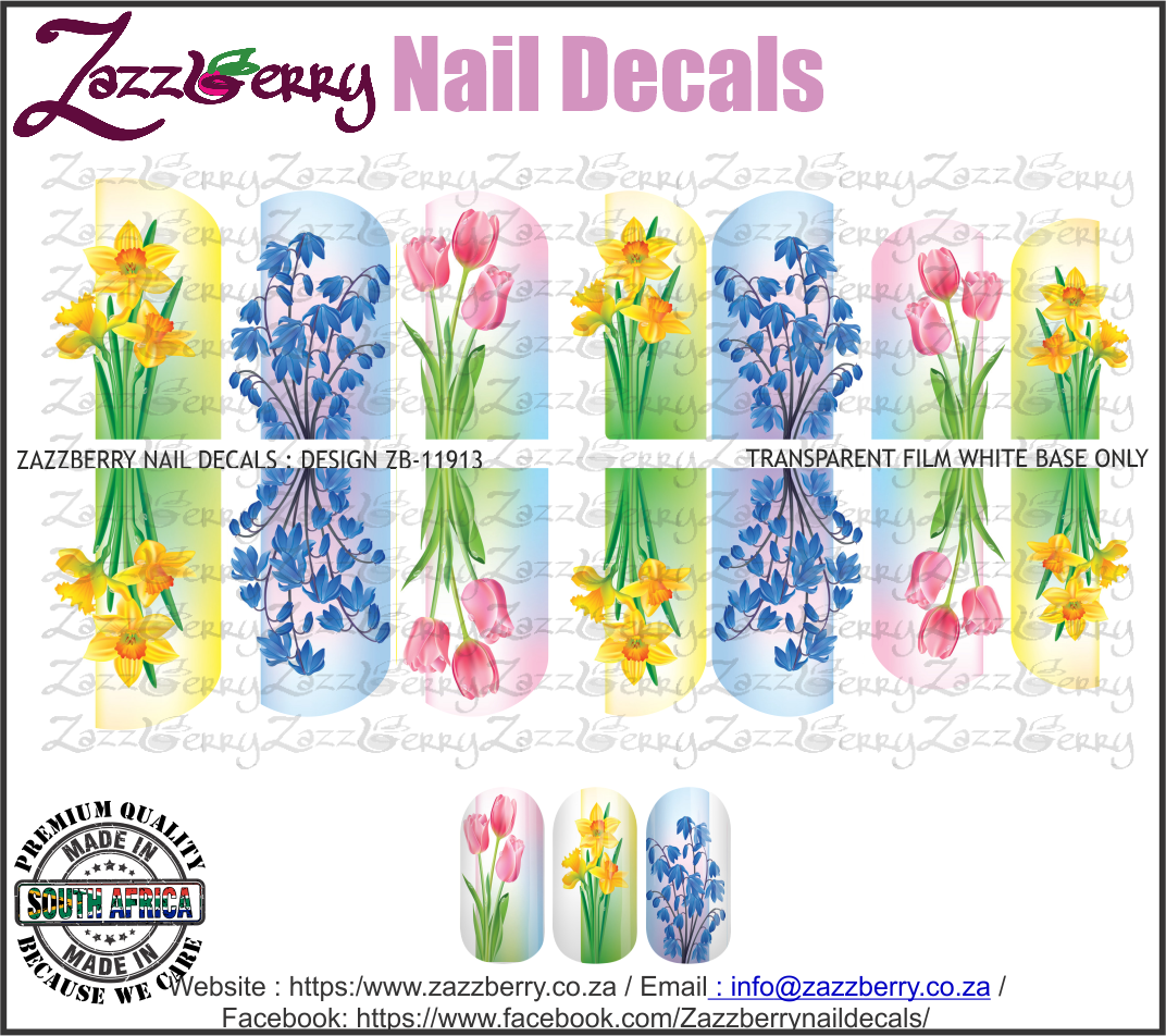 Tulips , Daffodils and Lavender