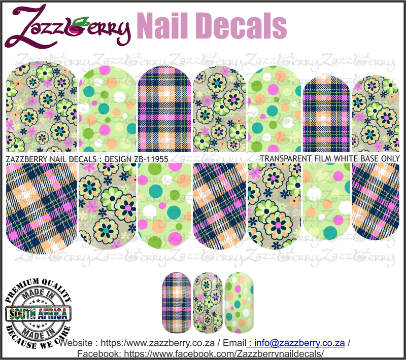 Colorful Plaids with Flowers