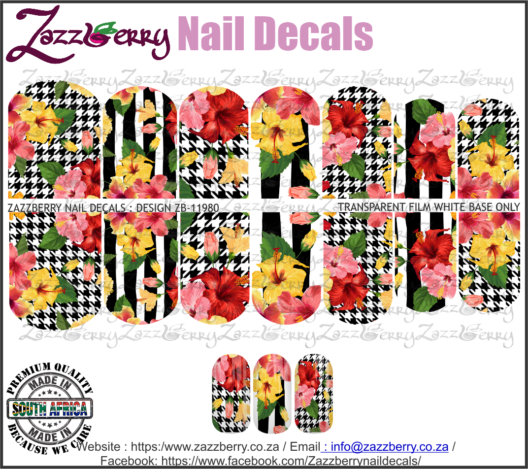 Hibiscus Plaids and Stripes