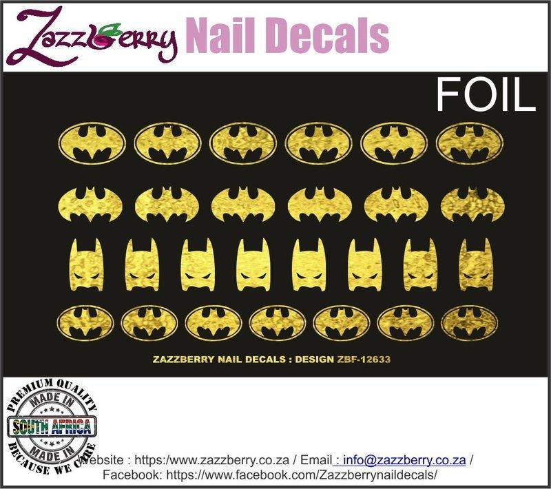 Batman Foil Logo