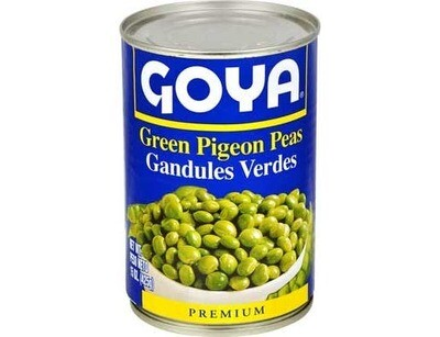 Green Pigeon Peas 15 Ounces
