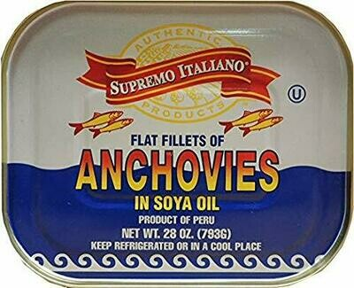 Anchovies 28 Ounces