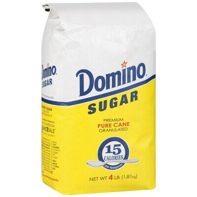 * Domino Sugar Granulated 4 Pounds