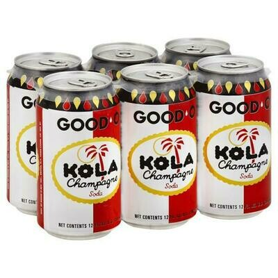* Good'O Kola Can 6-12 Ounces