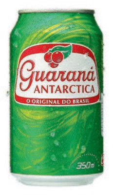 * Guarana Antarctica Cans 12-11.83 Ounces