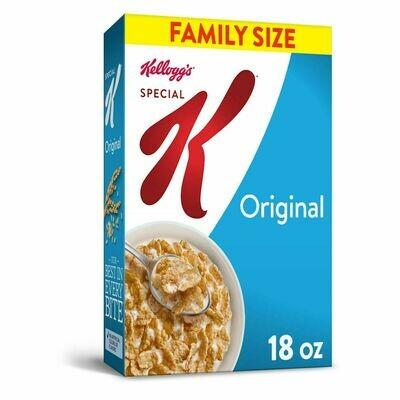 Kellogg's Special K Cereal 18 Ounces