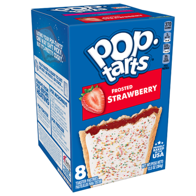 * Pop Tarts Strawberry Frosted 6-3.6 Ounces