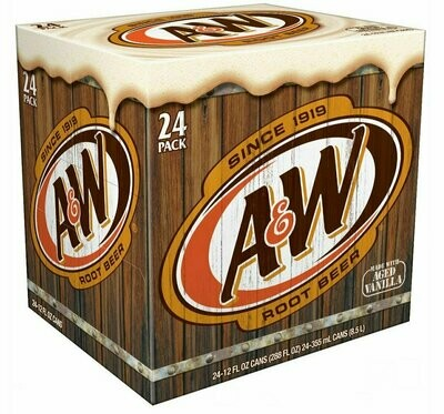 * A&W Root Beer 24x12 Ounces