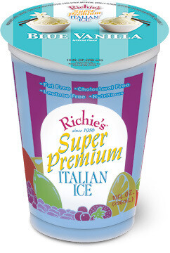 Richie's Blue Vanilla 10 Ounce Cup