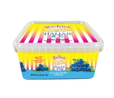 Richie's Blue Raspberry 1/2 Gallon