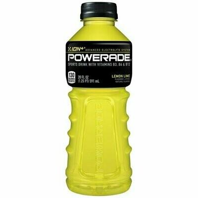 Powerade Lemon Lime 20 Ounces