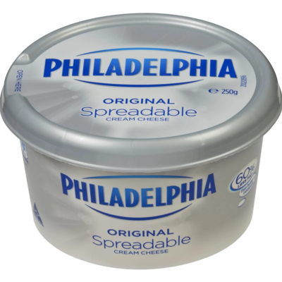 * Philadelphia Soft Cream Cheese 8 Ounces