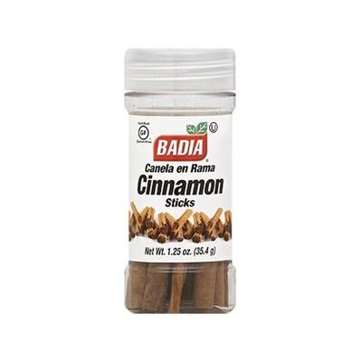 * Badia Cinnamon Sticks 1.25 Ounces