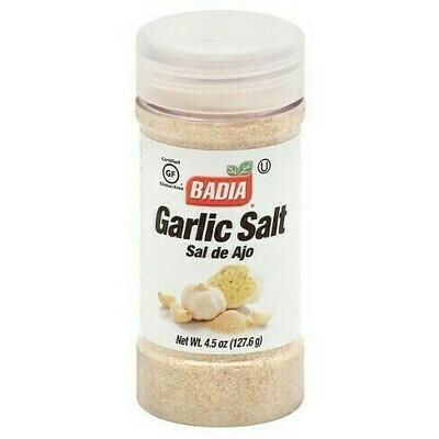 * Badia Garlic Salt 4.5 Ounces