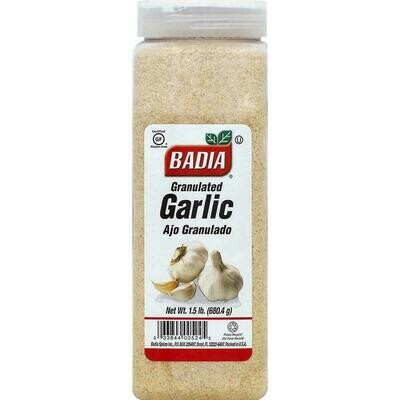 * Badia Granulated Garlic 1.5 Pounds
