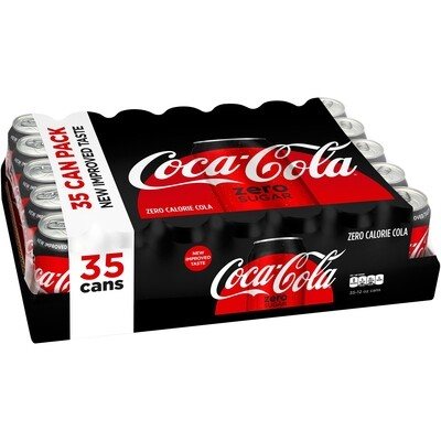 * Coca-Cola, Zero Sugar 35-12 Ounces