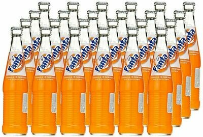 * Fanta Mexican Orange Soda 24-12 Ounces