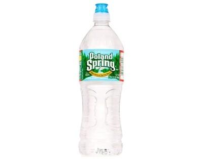 * Poland Spring Water Flip Top Bottles 24-23 Ounces