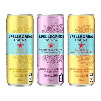 * Sanpellegrino Sparkling Fruit Drink Variety Pack 24-11.1 Ounces