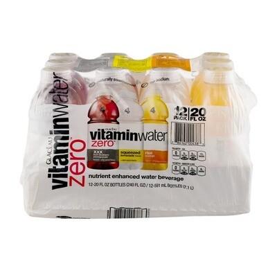 * Vitaminwater Zero Variety Pack 12-20 Ounces