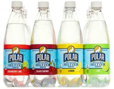 * Polar Seltzer Variety Club Pack Of 12-1L Bottles