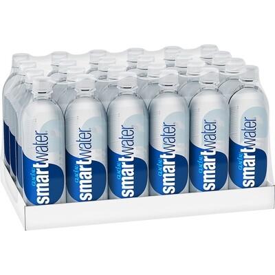 * Smartwater 24-20 Ounces Plastic Bottles