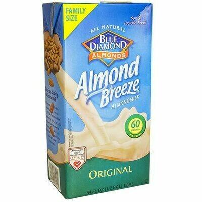 * Blue Diamond Fresh Almond Milk 64 Ounces