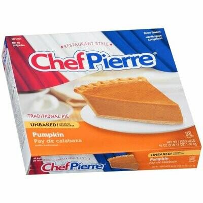 * Chef Pierre Unbaked Pumpkin Pie 10
