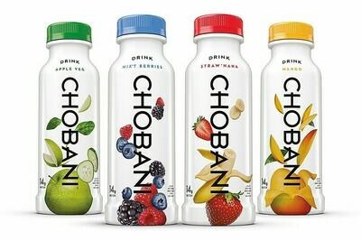 * Chobani Yogurt Drink Variety Pack 12-7 Ounces