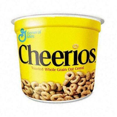 * Cheerios Cereal Cup 6-1.3 Ounces