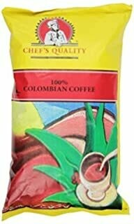* Chef's Quality 100% Colombian Coffee 1 Pound