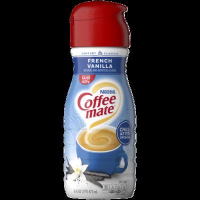 * Coffee Mate French Vanilla Creamer 16 Ounces