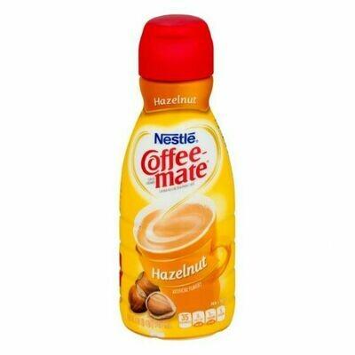 * Coffee Mate Hazelnut Coffee Creamer 32 Ounces