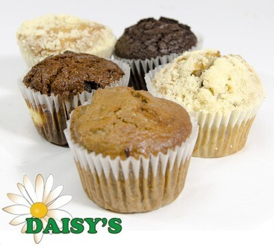 * Daisy's Bakery Wrapped Assorted Muffins 12 Count