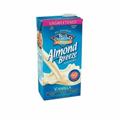 * Blue Diamond Fresh Unsweetened Almond Milk 64 Ounces
