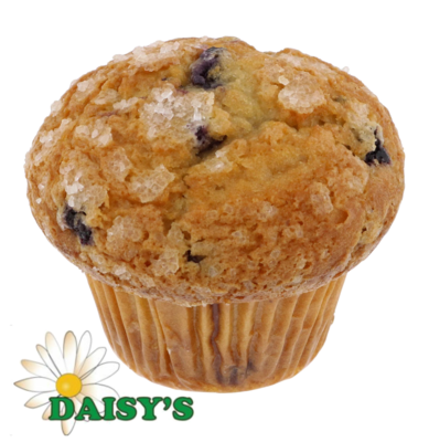 * Daisy's Bakery Unwrapped Blueberry Muffin 6-5 Ounces