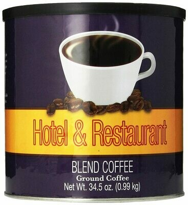 * Chef's Quality Hotel And Restaurant Blend Ground Coffee 34.5 Ounces