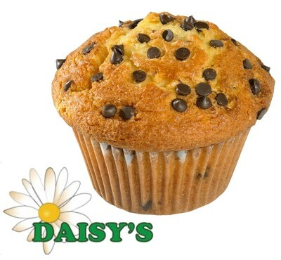 * Daisy's Bakery Unwrapped Chocolate Chip Muffin 6-5 Ounces